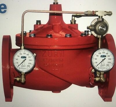 """ZURN Wilkins ZW209FPG 2"""" Grooved Pressure Reducing Valve Fire Protect 2-ZW209FPG"""