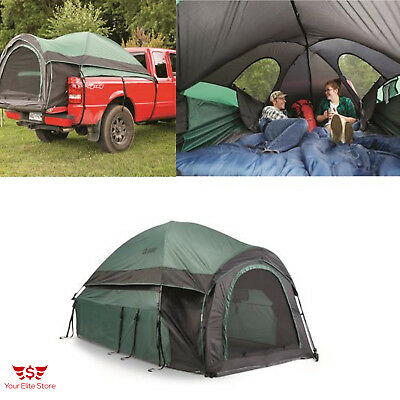 """Truck Camping Tent Pick Up Bed Sleeps 2 Fits Beds 72-74"""" 1500mm Water-Resistant"""