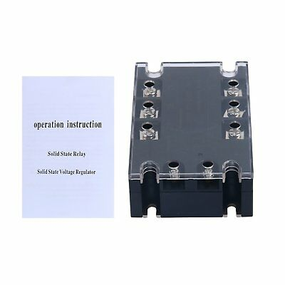 3 Phase DC AC Solid State Relay 100A SSR Input 3-32V AC Load Output 480V 100A