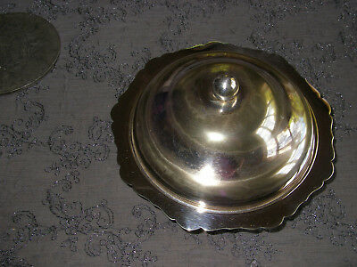 Silver Muffin Dish dated 1815