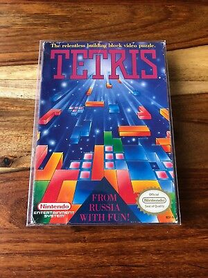 Tetris (Nintendo Entertainment System, 1989) NES CIB Complete Box Manual