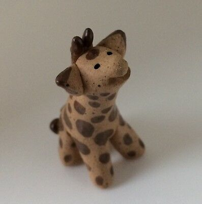 Little Guys Giraffe Handmade Pottery Cindy Pacileo from Mid 90s Collection
