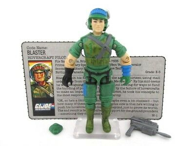 Action Force GI Joe Cobra ☆ BLASTER ☆ Figure Rare Hasbro Vintage 100% MINT 1987