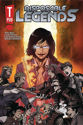 DISPOSABLE LEGENDS #1 (OF 6) (MR) 1st Print (WK37.18) (W) Terry Mayo