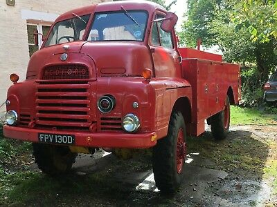 Bedford RL HCB Angus Firefly Fire Engine 4x4 Classic Commercial Possible Vintage