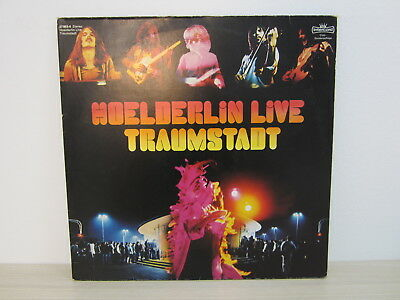 DLP /  Hoelderlin ‎– Traumstadt  /  Club Edition / 1976 / RARITÄT /