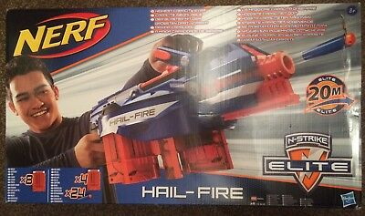 NERF N-Strike Elite Hail-Fire (Damaged Box)