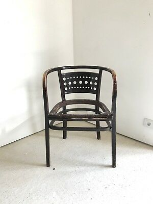 Otto Wagner fauteuil Thonet Chair