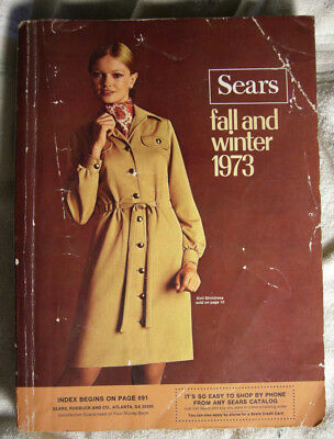Vintage Sears Fall Winter Catalog 1973