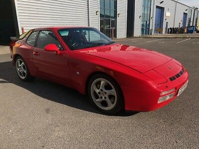 Porsche 944 S2 Porsche Service History Guards Red 3.0L 16V  Black Leather 1990
