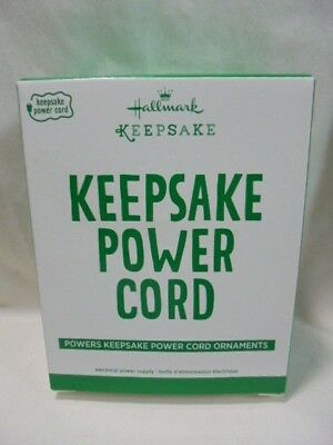 2017 Hallmark Keepsake Ornament Power Cord B20