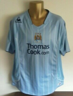 Manchester City 2007/08 Le Coq Sportif Home Football Shirt