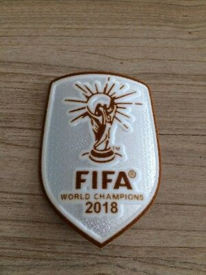 Exclu Patch Badge Champion Du Monde 2018 version Blanc Equipe de France