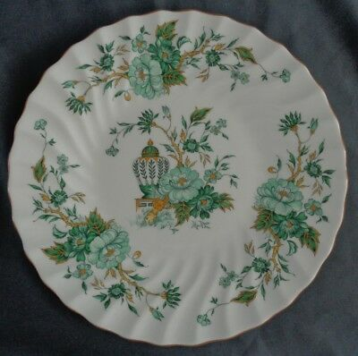 CROWN STAFFORDSHIRE ENGLAND KOWLOON gebakschaal 27cm pastry serving plate teller