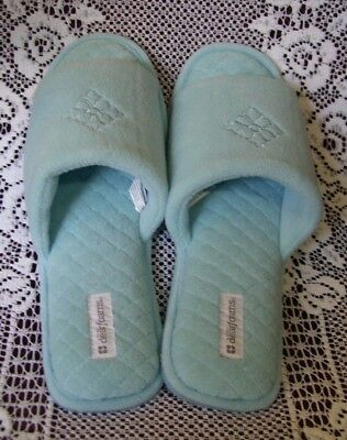 Women's DEARFORM SLIPPERS - Size XL (11-12) - Blue - New