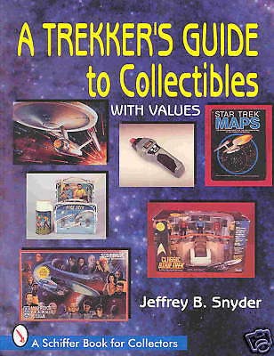 """GSCOM  """"A TREKKERS GUIDE TO COLLECTIBLES -STAR TREK""""  28x22cm, PRICEGUIDE ! NEW"""