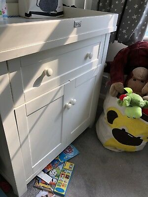 Silver Cross Nostalgia baby changing table dresser cupboard