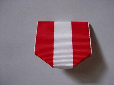 Ribbons for trail medals and other awards and medals Red White Red 1/2 dozen