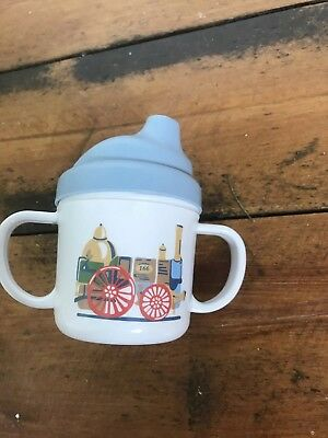 CATH KIDSTON Tiny Trains Melamine Sippy Cup