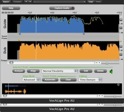 New SynchroArts Vocalign Pro 4 Auto Align Tracks Software PC Mac eDelivery