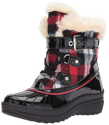 Anne Klein Womens Gallup Closed Toe Mid-Calf Cold Weather Boots