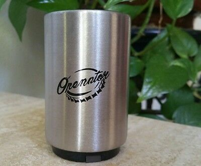 Magnetic Automatic Beer Bottle Opener with Cap Catcher Stainless Steel Push Down