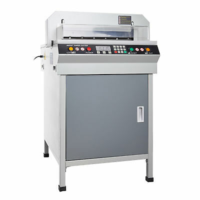 """460 Electric Creaser Scorer Perforator+ 18"""" Paper Cutter Punch Guillotine"""
