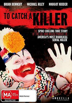 TO CATCH A KILLER (Brian Dennehy)  - DVD - UK Compatible -sealed