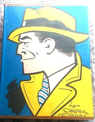 The Celebrated Cases of Dick Tracy by Chester Gould-1990 HC/DJ-Ellery Queen