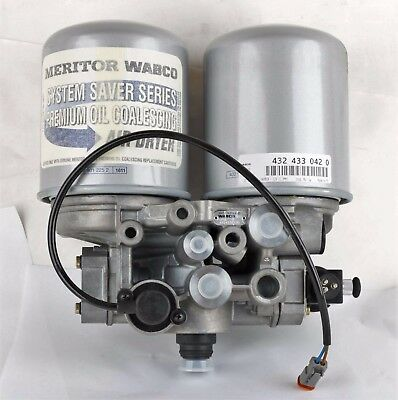 New S4324330420 Meritor Wabco Air Dryer Twin Assembly