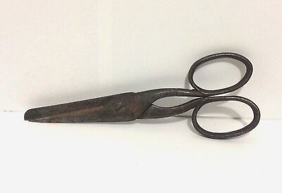 Antique Scissors Macmoran Extratemper Hand Hammered 19th Century