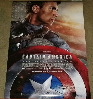 Captain America The First Avenger Original Movie Poster 27X40 DS US 1 Sheet 2011