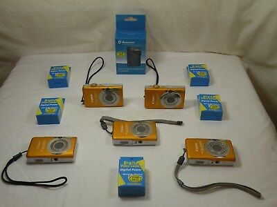 Canon PowerShot ELPH, SD1200 IS, 10MP Digital Camera ,w/ New Batteries, LOT OF 5