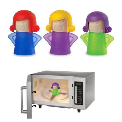 Angry Cool Mama Microwave Oven Cleaner Home Kitchen Fridge Freshener Gadget Tool