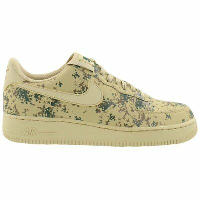 NEW Nike Men's Air Force 1 '07 LV8 Low 823511 700 Camo Team Gold Beige Size 13
