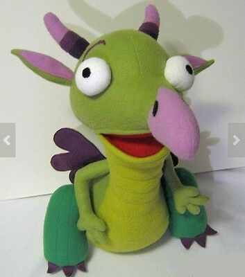 *rare* Soft Plush Just Like Draco The Dragon From Baby Tv *brand New*