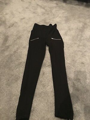 H&M Maternity Leggings With Zip Size XS (8)