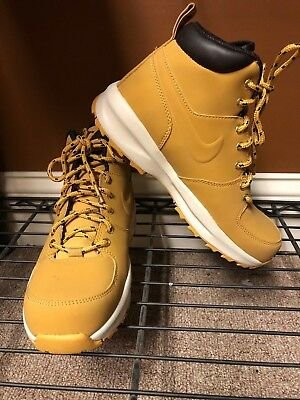 check out d1a10 2100f Nike Manoa Leather ACG Boots (GS) Haystack 472648-700 in Various Sizes NO