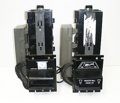 Two Coinco MAG52BX Coin Acceptor Validator  FOR REPAIR or PARTS