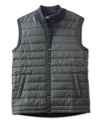 Barbour Men's New Navy Blue Essential Quilted Gilet Vest, New With Tags, Medium