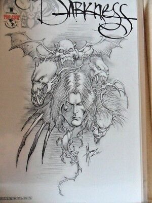 The Darkness #1 sketch variant cover