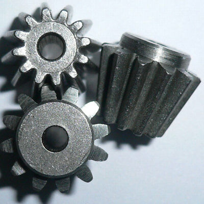 1 Mod 12 Tooth 9.5mm step 13.96 Outer Diameter Carbon Steel Bevel Gear
