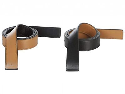 Hermes Replacement Leather Belt Strap Reversible Genuine Fits -