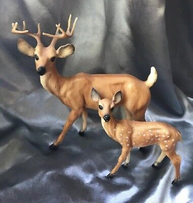 Vintage Breyer Deer Family - Buck & Fawn ONLY, Collectible Figurines