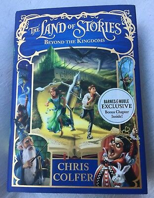 The Land of Stories: Beyond the Kingdoms by Chris Colfer English Hardcover BK 4