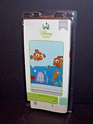 """Disney Baby Finding Nemo Wall Decals 4 Sheets 10"""" x 18"""" Each New (e)"""