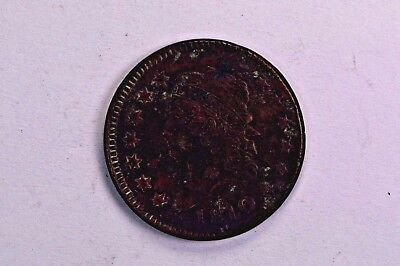 1810 Large Cent Great Detail .99c NO RESERVE