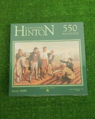 Walter Haskell Hinton John Deere Limited Edition Puzzle His Successful Moment