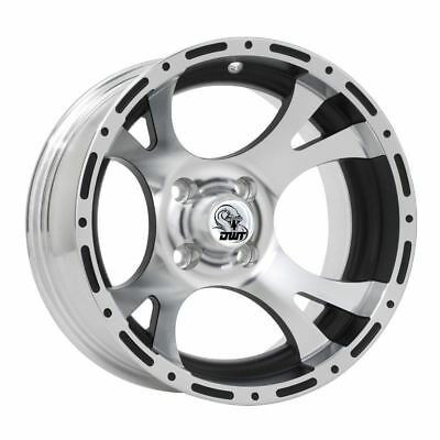 DWT RS14 Rattlesnake 14X7 4+3 4/110 Clear Coated Machined