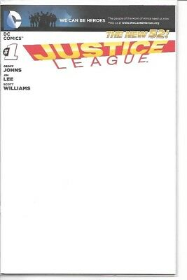 Justice League #1 #22 SDCC Exclusive Blank & Trinity Variant Cover Editions